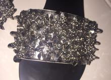 women slipper  silver  size 39