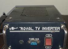 انفيرتر من 24 فولت  كهرباء الى 220 فولت قدرة 500 واط اصلي