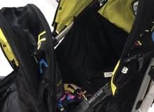 عربة اطفال ثنائية لعمرين مختلفين ماركة Goodbaby