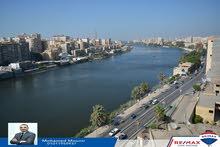 بأفضل فيو على النيل بالمنصورة شقه للبيع بشارع الجمهوريه الرئيسي