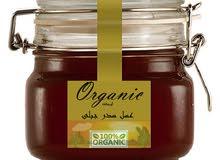 (عسل السدر الجبلى 250جم)  Organic