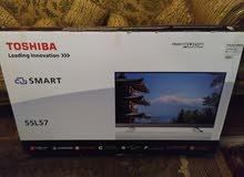 تلفزيون سمارت ليد 55 بوصة فل اتش دي بنظام سمارت اوبرا من توشيبا 55L571Mea-B