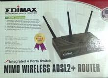 EDIMAX mimo wireless adsl2+router