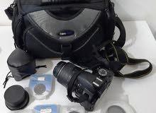 Nikon D3100 DSLR Camera, DX Nikkor 18-55mm lens + many extras excellent condition