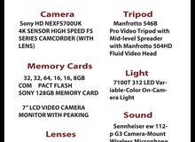 كاميرا تصوير تلفزيوني Sony HD Nex Fs700uk HD  للبيع