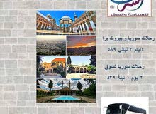 رحلة مبيت دمشق VIP فقط بـ 39 دينار
