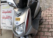 دراجه سكنس محرك125سيسي كوري للبيع