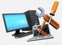دعم فني وصيانة كمبيوتر مكتبي ولابتوب في محلك