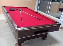 MARBLE TOP BILLIARD TABLE
