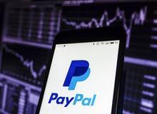 بيع و تحويل رصيد باي بال paypal / يوجد بطاقات لتفعيل حساب باي بال