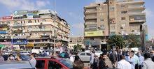 محلات للايجار بقلب ميدان الحصري ومحيطه مساحات مختلفة واسعار مختلفه