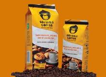 عبوة قهوة الغوريلا 250 جرام  *دارك *