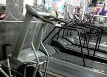 اجهزة رياضية تردميل عطلانه ومستهلكة بتنفع لقطع صيانه