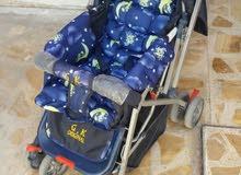 عربة اطفال استخدام قليل ب40 الف للبيع