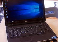 للبيع لابتوب ديل Laptop Dell Used Core i7//1000 GB HDD//8 GB Ram