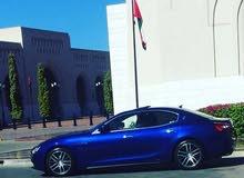 Gasoline Fuel/Power   Maserati Ghibli 2016