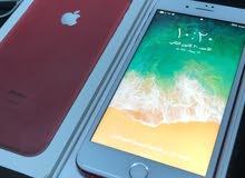 iPhone 7+ red 128g بسعر مغري