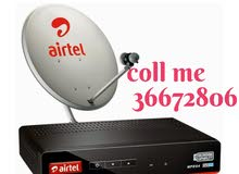 good airtel dish and receiver new fixcen coll me 32075784