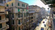 شقة للبيع بكامب شيزار 206 متر شارع بور سعيد علي السكن