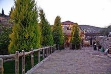 السلط الزعتري مزرعه مميزه جدا شبه قصر 650م بناء على ارض 4800م