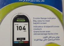 للبيع جهاز تحليل السكر وان تاتش سيلكت بلاس مستعمل
