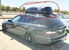صندوق رحلات ينفع لكل السيارات مع القواعد غير مستخدم