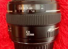 عدسة 50mm F1.4 للبيع