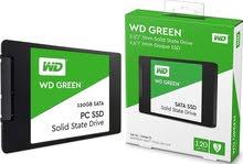 هاردسكات SSD WD GREEN .بسعر مناسب .