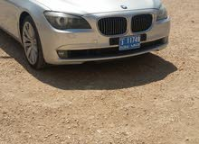 Used condition BMW 740 2012 with 1 - 9,999 km mileage