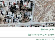 ارض للبيع في قرية ادر حي ام لوزه