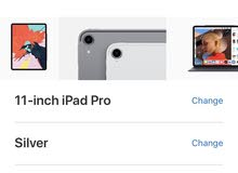 iPad Pro 3rd generation WiFi and cellular