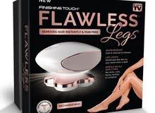 جهاز فلوليس الرباعى لإزالة شعر الجسم والقدمين بدون ألم  Flawless 4 Legs finishing touch