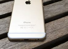 للبيع ايفون 6 بلس ذهبي بسعر 680