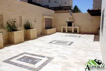 Khalda neighborhood Amman city - 240 sqm apartment for sale