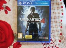 uncharted 4 للبلاستيشن 4
