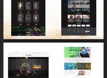website design and development - تصميم المواقع