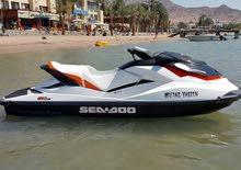 دراجة مائية نوع sea doo موديل 2011  للبيع
