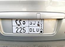 3-digit plate number