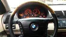 Used condition BMW X5 2001 with +200,000 km mileage