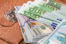 Dollars and Euros currency for sell
