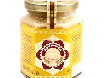 غذاء الملكة مع العسل الاكريمي