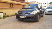 Brown Nissan Tiida 2007 for sale