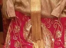 فستان سهرة لبسه  واحد فقط150 دينار