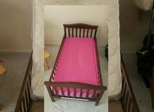 junior's wooden baby bed
