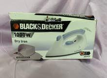 black and decker new iron