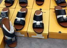 نعال مندوس جلد طبيعي صناعه في تايلند خياطه يدويه السعر 10 فقط