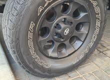 4pcs mastercraft tyres + 4 original fj rims