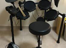 Alesis Electric Drum + Alesis Headphones + Drum Chair