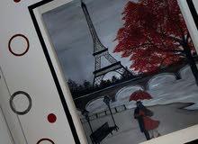 لوحة برج إيفل