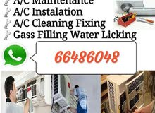 split and window A/C maintenance, installations, cleaning